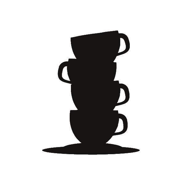 Eerlijk Koffie kopjes