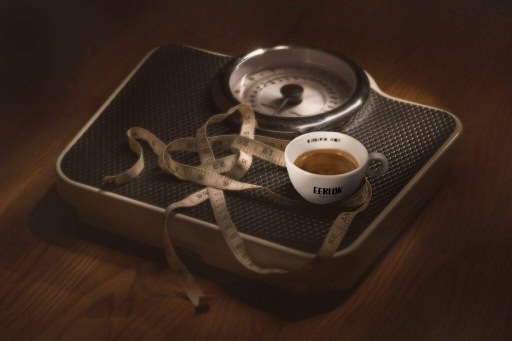 sporten en koffie